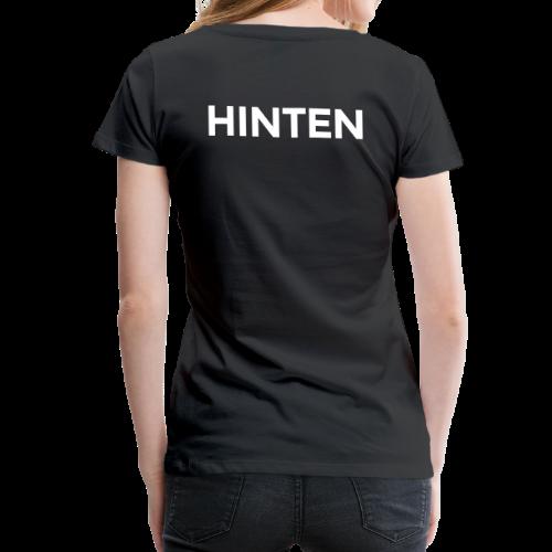 Vorne / Hinten S-3XL T-Shirt - Frauen Premium T-Shirt