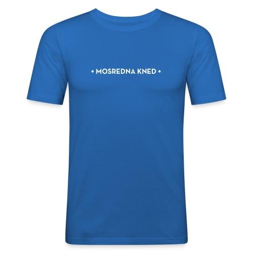 Mosredna mannen slimfit - slim fit T-shirt