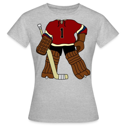 Vintage Ice Hockey Goalie Women's T-Shirt - Women's T-Shirt
