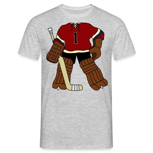 Vintage Ice Hockey Goalie Men's T-Shirt - Men's T-Shirt