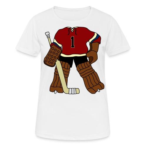 Vintage Ice Hockey Goalie Women's Breathable T-Shirt - Women's Breathable T-Shirt