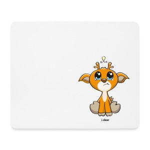 Mousepad | white | i.deer - Mousepad (Querformat)