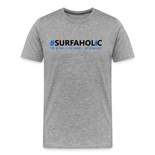 Surfaholic - Männer Premium T-Shirt