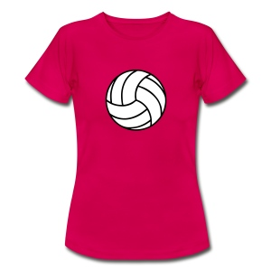 Volleyball  2 colors T-skjorter - T-skjorte for kvinner