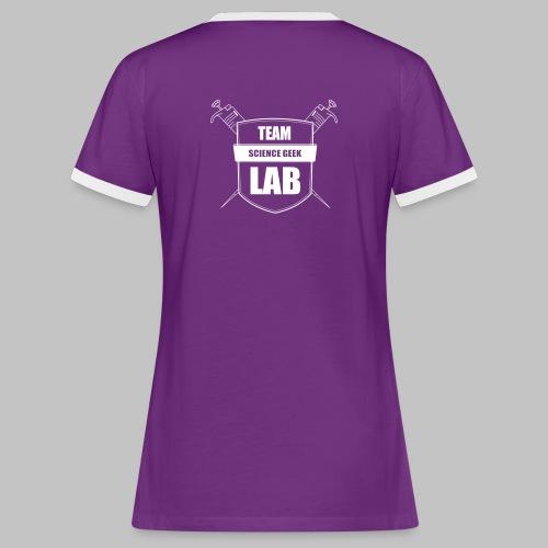 T-shirt femme Team Lab - Women's Ringer T-Shirt