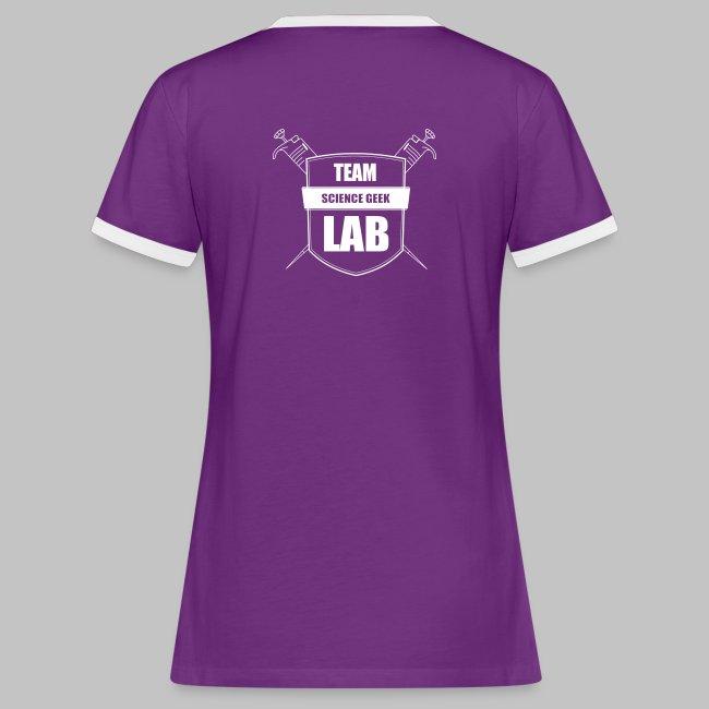 T-shirt femme Team Lab
