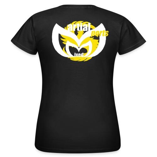 tee shirt noir MMS F2 - T-shirt Femme