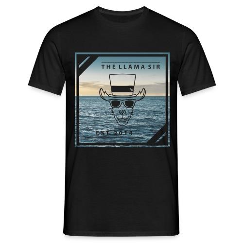 TheLlamaSir Men's Full Print T-shirt : black - Men's T-Shirt