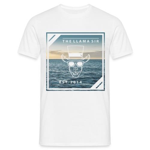 TheLlamaSir Men's Full Print T-shirt : white - Men's T-Shirt