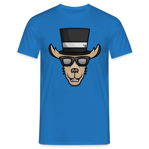 TheLlamaSir Color Logo Men's T-shirt : royal blue - Men's T-Shirt