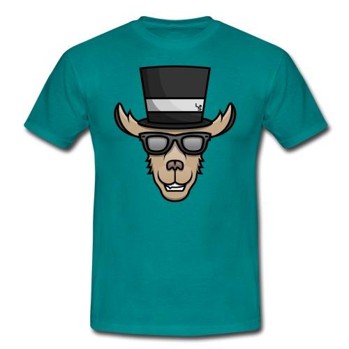 TheLlamaSir Color Logo Men's T-shirt :  blue - Men's T-Shirt