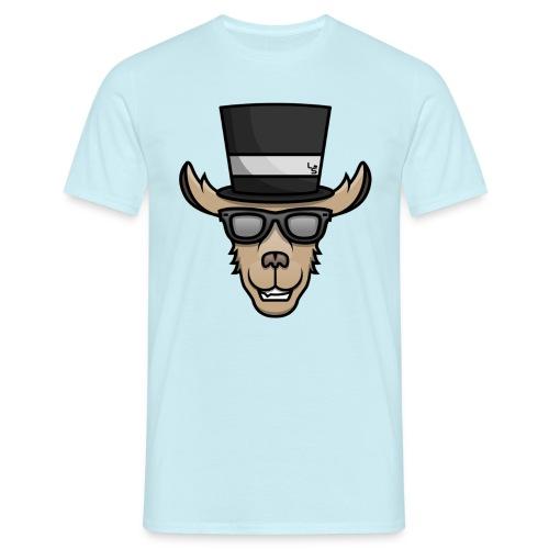 TheLlamaSir Color Logo Men's T-shirt : sky - Men's T-Shirt