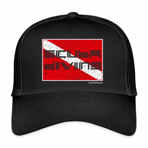 Scuba Flag (Trucker Cap) - Trucker Cap