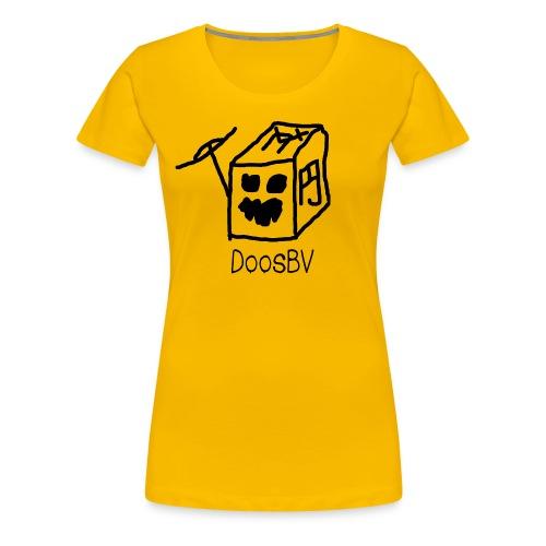 DoosBV Shirt Vrouwen - Vrouwen Premium T-shirt