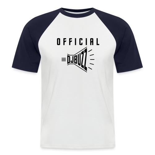 DJBUZZ HYPESHIRT BLACK - T-shirt baseball manches courtes Homme