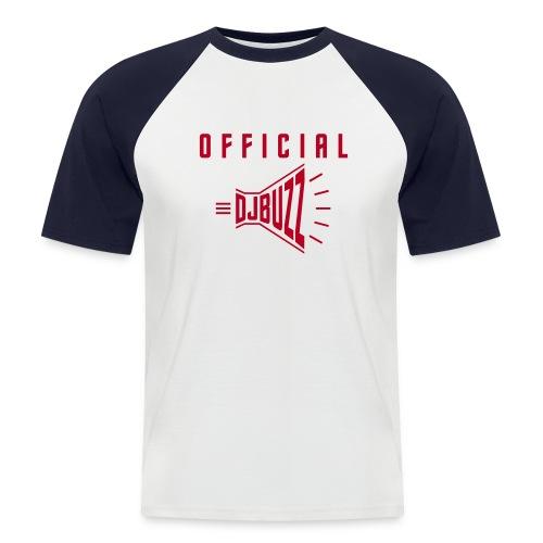 DJBUZZ HYPESHIRT RED - T-shirt baseball manches courtes Homme