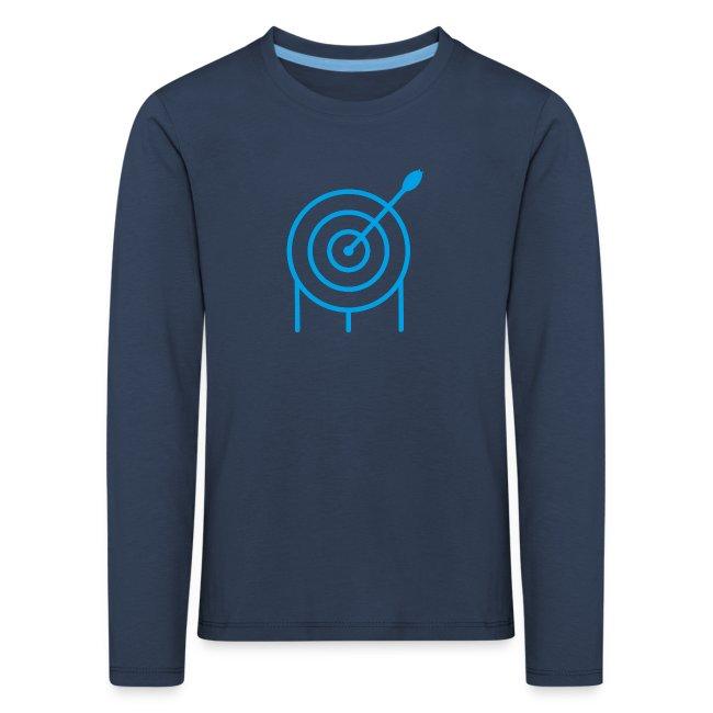 Target Kinder Premium Langarmshirt - archersONE TM