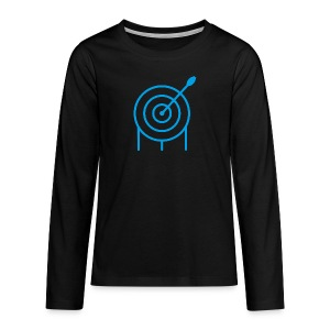 Target Teenager Premium Langarmshirt - archersONE TM  - Teenager Premium Langarmshirt