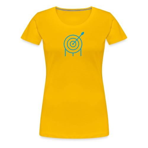 Target Frauen Premium Shirt - archersONE TM  - Frauen Premium T-Shirt