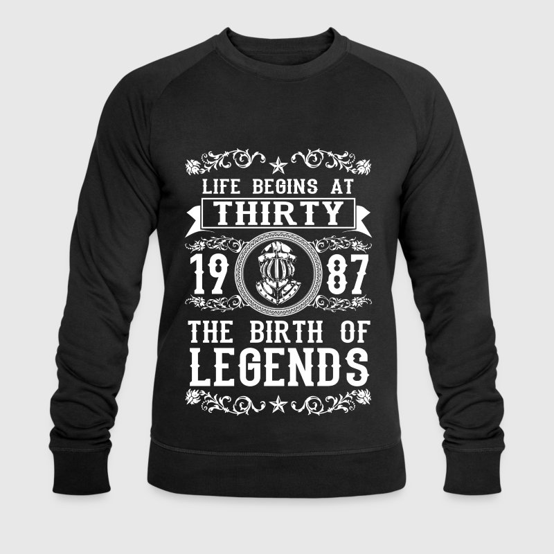 1987 - 30 years - Legends - 2017 Sweaters - Mannen sweatshirt van Stanley & Stella