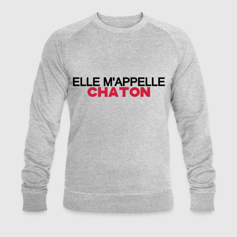 ELLE M'APPELLE CHATON Sweat-shirts - Sweat-shirt Homme Stanley & Stella