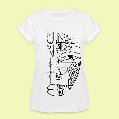 Face of Future United - Frauen Oversize T-Shirt