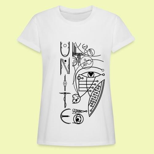 Face of Future United - Frauen Oversize T-Shirt