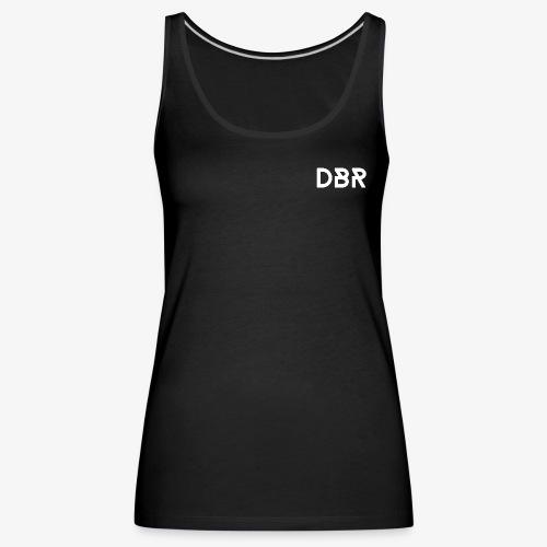 DBR Tanktop - Damen - schwarz - Frauen Premium Tank Top