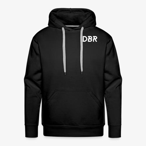 DBR Hoodie - Herren - schwarz - Männer Premium Hoodie