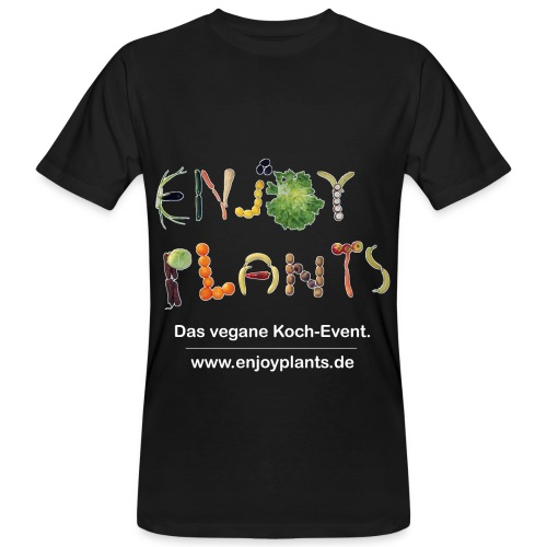MANN - Enjoy Plants - Männer Bio-T-Shirt
