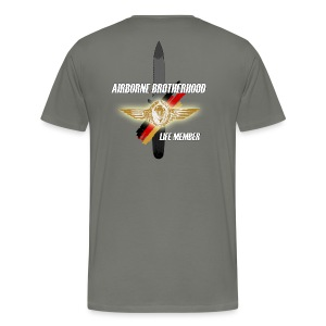 Airborne Brotherhood Messer wings-shirt - Männer Premium T-Shirt