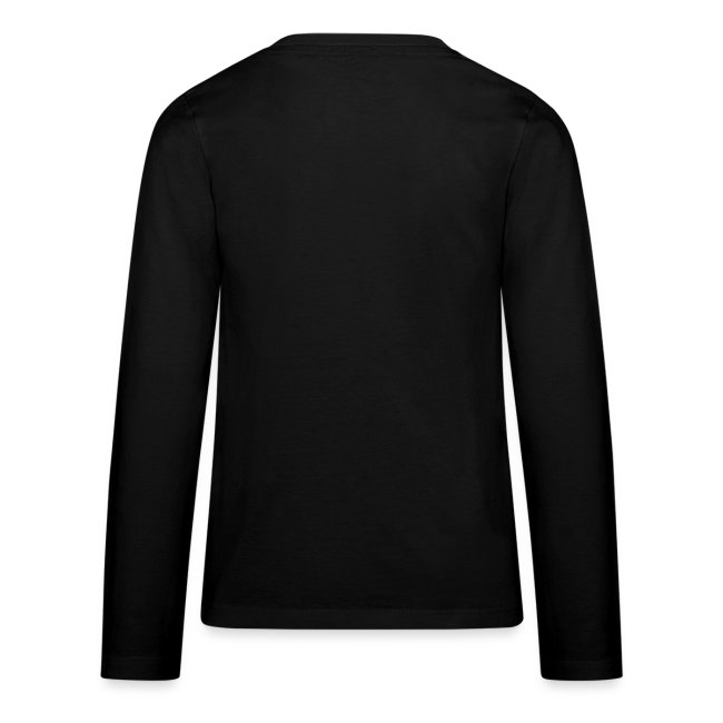 Wanna Go? Or Are Your Gloves Glued On? Teenager's Long Sleeve T-Shirt