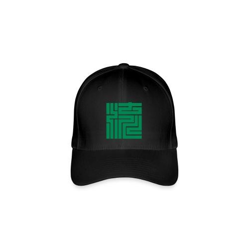 Nagare Daiko Blockschrift Basecap Flockdruck - Flexfit Baseballkappe