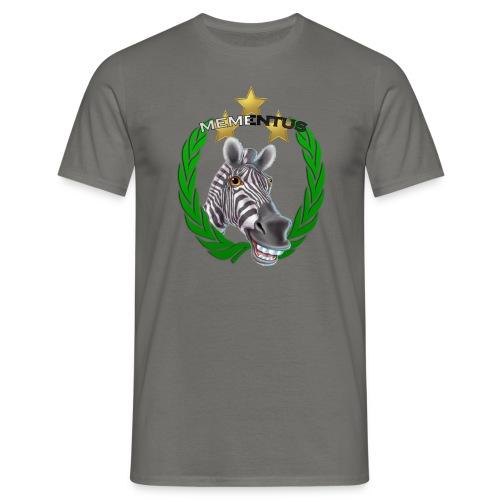 Zebra Mementus Uomo Old Style - Maglietta da uomo