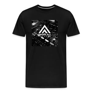 Above All DJ Shirt - Men's Premium T-Shirt