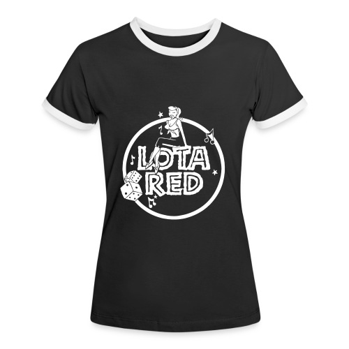 Frauen Kontrast-T-Shirt - Frauen Kontrast-T-Shirt