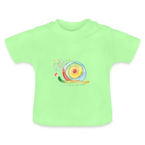 Baby-bio-T-Shirt *Schnecke* - Baby T-Shirt