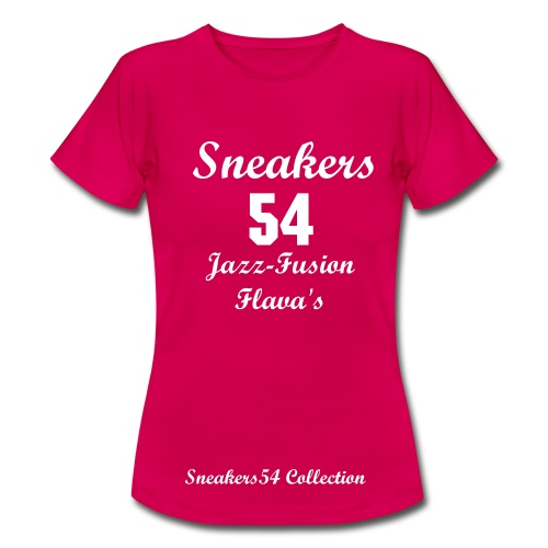 LADIES SNEAKERS 54 JAZZ-FUSION FLAVAS RUBY RED/WHITE  - Women's T-Shirt