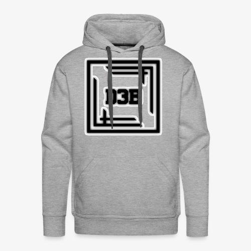 D3B Music Crew Sweat Black - Sweat-shirt à capuche Premium pour hommes