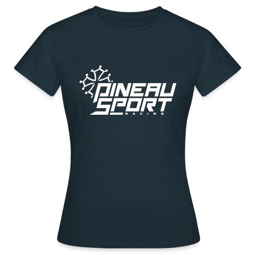 PSR Logo Tee Bleu - T-shirt Femme