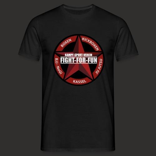 T-Shirt - Logo Brust & Leitspruch Rücken - Männer T-Shirt