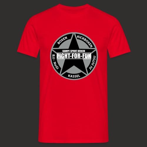 T-Shirt - Logo Brust rot - Männer T-Shirt