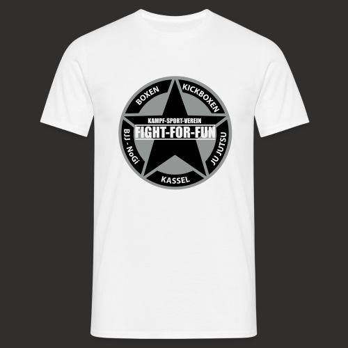 T-Shirt - Logo Brust - weiss - Männer T-Shirt
