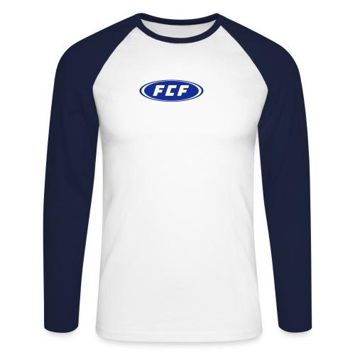 FCF-Baseballshirt Signet - Männer Baseballshirt langarm