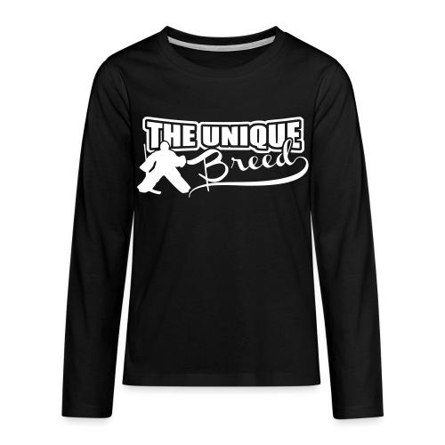 The Unique Breed Teenager's Long Sleeve T-Shirt - Teenagers' Premium Longsleeve Shirt