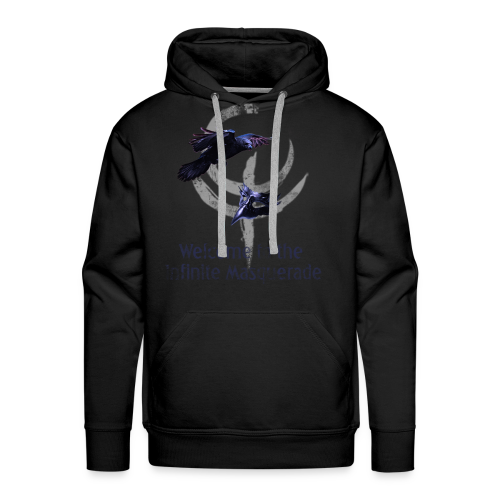 Masquerade Infinite Men's Hoodie 2 - Men's Premium Hoodie