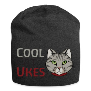 Cool Cat Ukes Beanie hat - Jersey Beanie