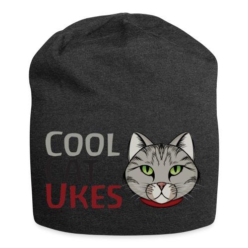 Cool Cat Ukes Beanie hat - Jersey Beanie
