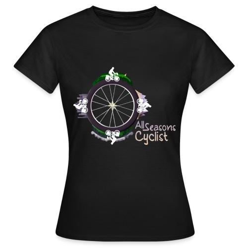 All seasons cyclist  - T-shirt Femme