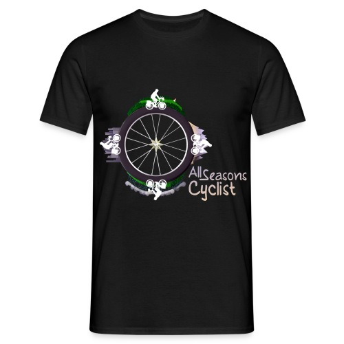 All seasons cyclist  - T-shirt Homme